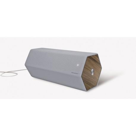 Elipson - Timber - Habitat - Enceinte sans fil compacte bluetooth .