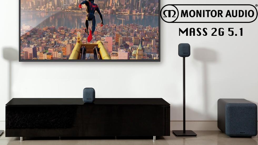 Monitor Audio Mass 5.1 : son dynamique et puissant